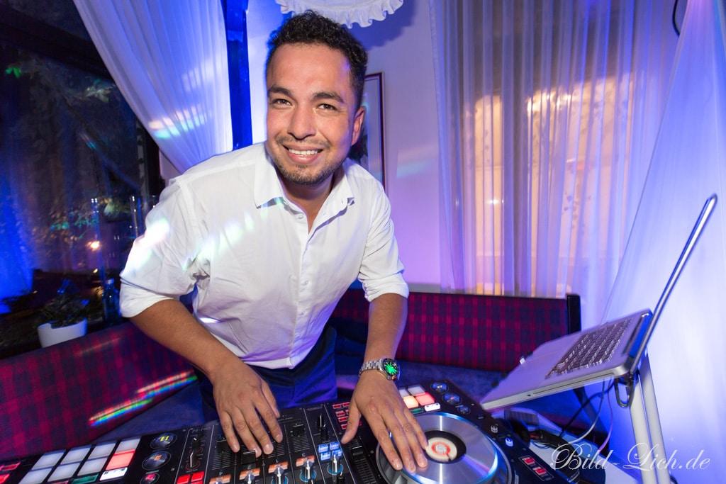 Hochzeits-DJ Freddy Arévalo
