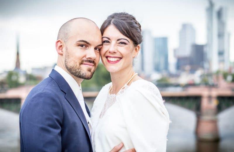 Natascha und Jonas feiern ihre Hochzeit in Frankfurt am Main - DJ-Frankfurt