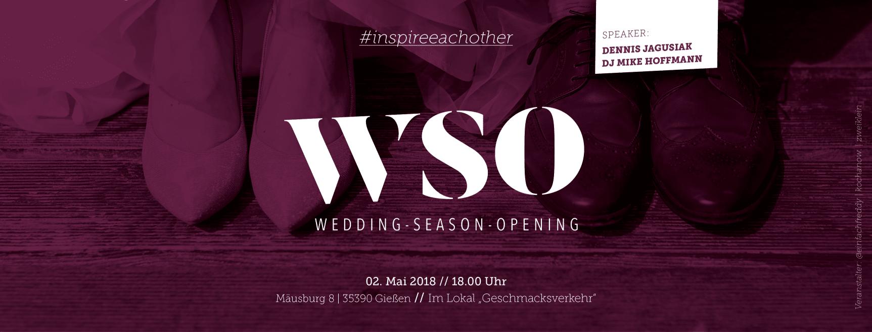 WSO - Wedding Season Opening - Das Dienstleistertreffen