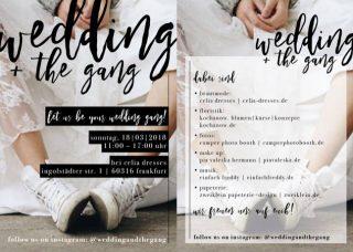 Wedding & the Gang - die Hochzeitsmesse