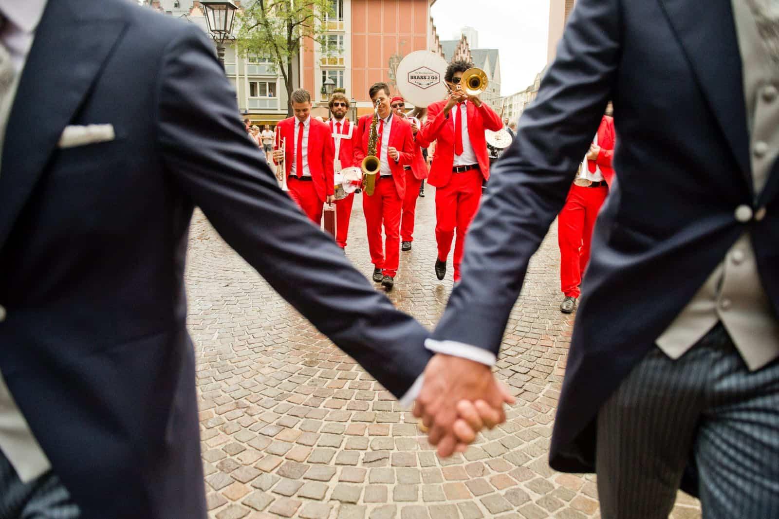 Freddy als Frankfurter-DJ - Hochzeit in der Rudergesellschaft Germania