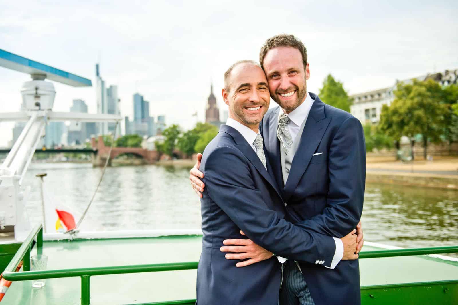 Thomas & Ben - Hochzeit in Frankfurt - Photo by Michael Gottschalk Fotografie