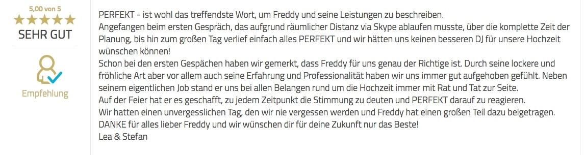 Bewertung DJ-Butzbach