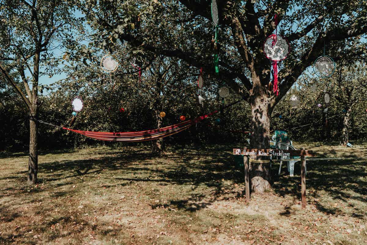 Festival-Hochzeit-Garten-Party