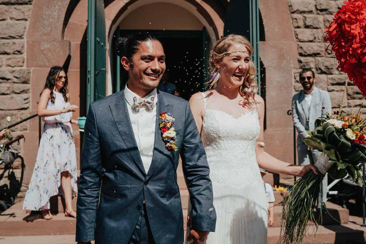 Tipi-Hochzeit - Eine deutsch-guatemaltekische Hochzeit